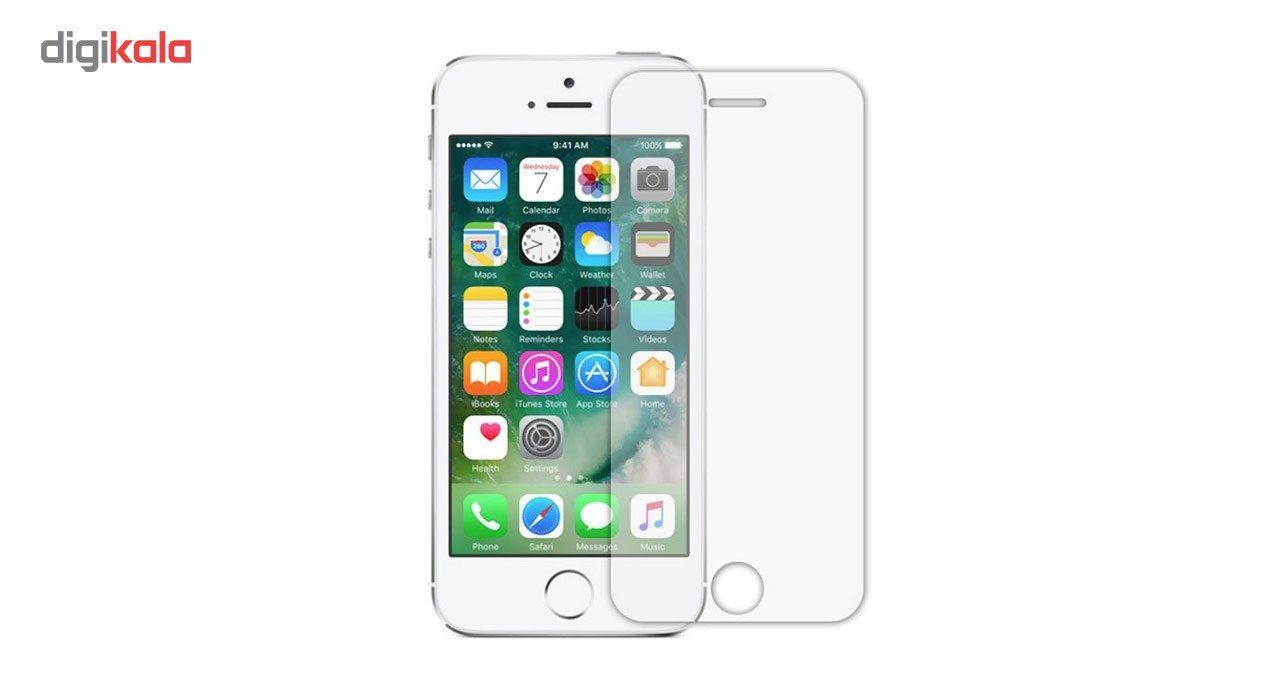 محافظ صفحه نمایش شیشه ای Tempered و پشت شیشه ای Tempered کوالا مناسب برای گوشی موبایل اپل آیفون 5/5S/SE main 1 2