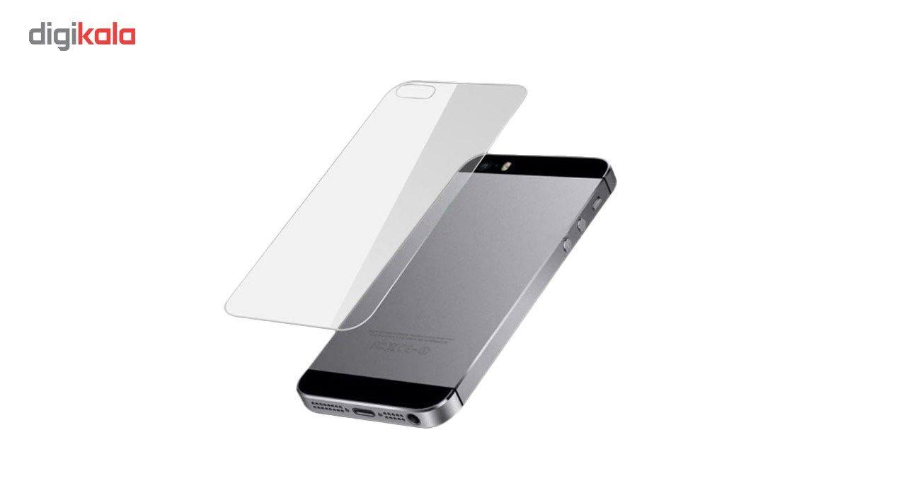محافظ صفحه نمایش شیشه ای Tempered و پشت شیشه ای Tempered کوالا مناسب برای گوشی موبایل اپل آیفون 5/5S/SE main 1 3