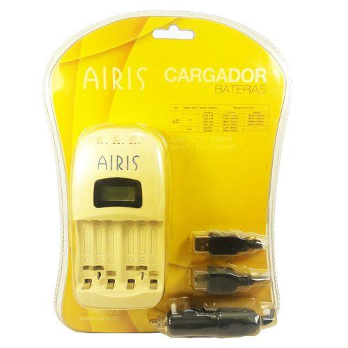 شارژر باتری قلمی و نیم قلمی ایریس مدل Cargador