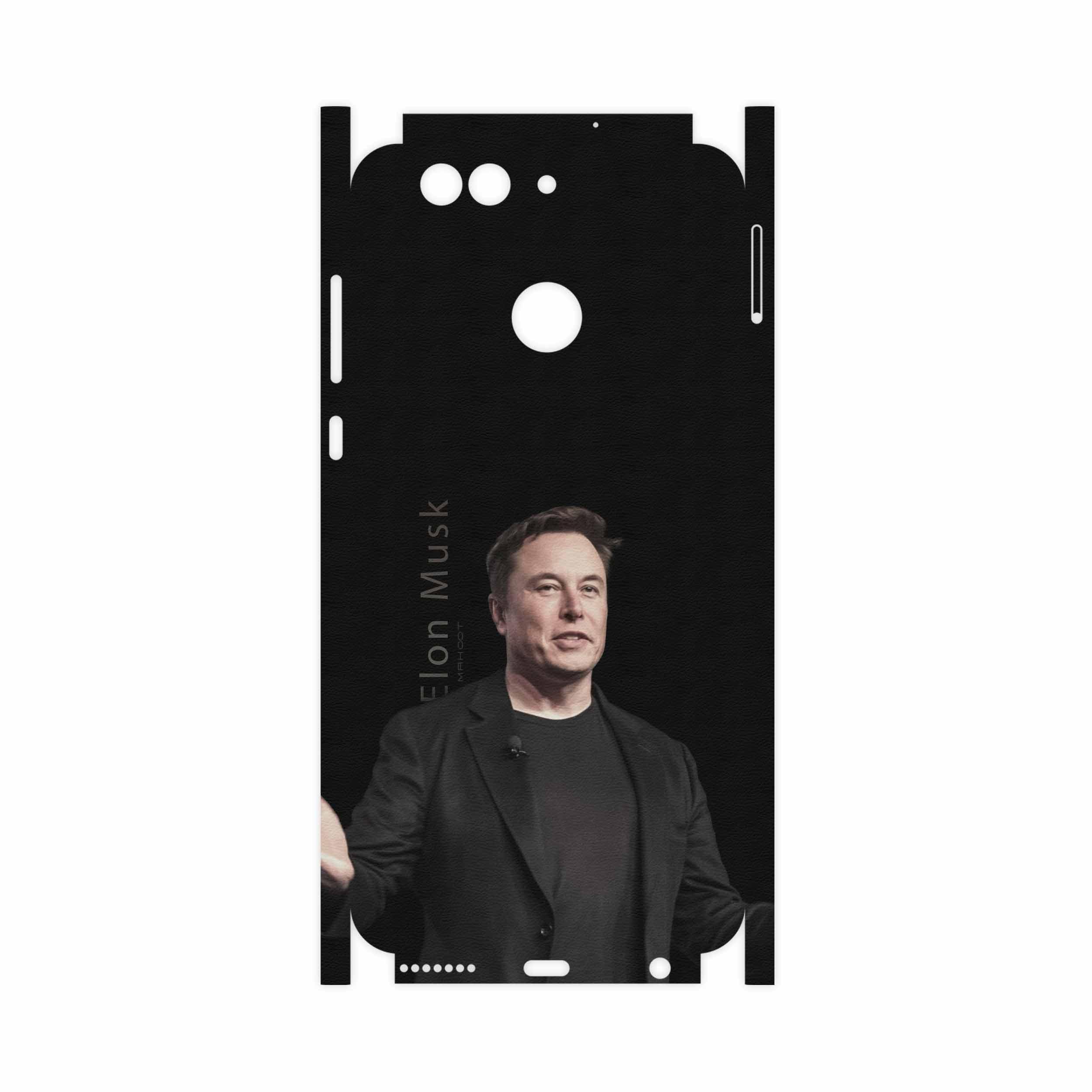 برچسب پوششی ماهوت مدل Elon Musk-FullSkin مناسب برای گوشی موبایل هوآوی Nova 2 Plus