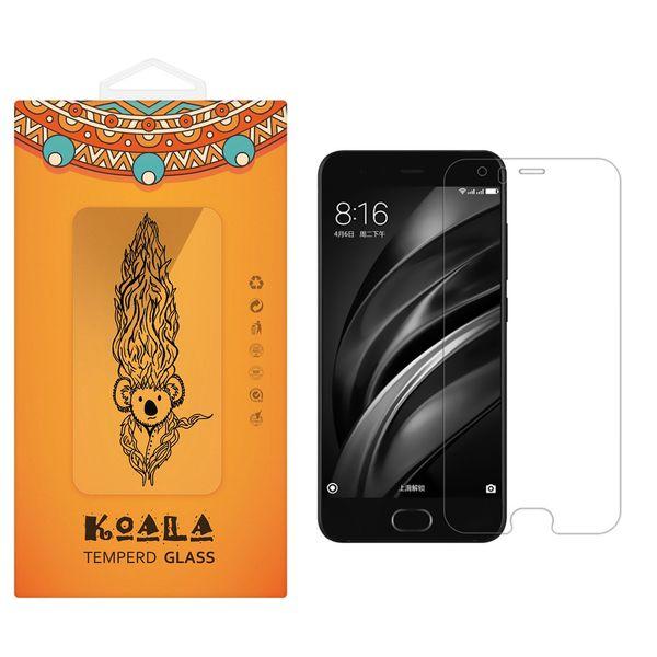 محافظ صفحه نمایش شیشه ای کوالا مدل Tempered مناسب برای گوشی موبایل شیائومی Mi 6