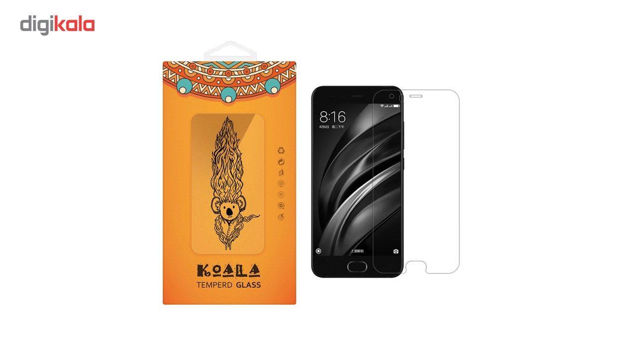محافظ صفحه نمایش شیشه ای کوالا مدل Tempered مناسب برای گوشی موبایل شیائومی Mi 6 main 1 1