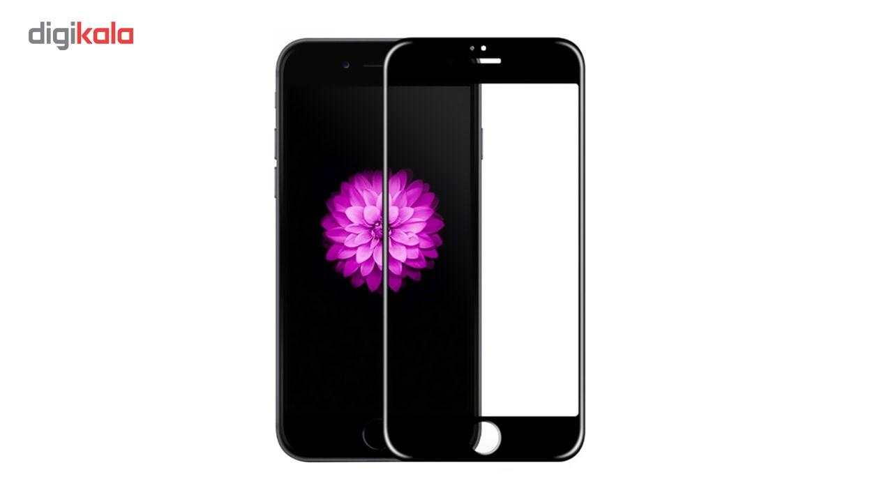 محافظ صفحه نمایش شیشه ای Full Cover و پشت شیشه ای Tempered کوالا مناسب برای گوشی موبایل اپل آیفون 6/6S main 1 2
