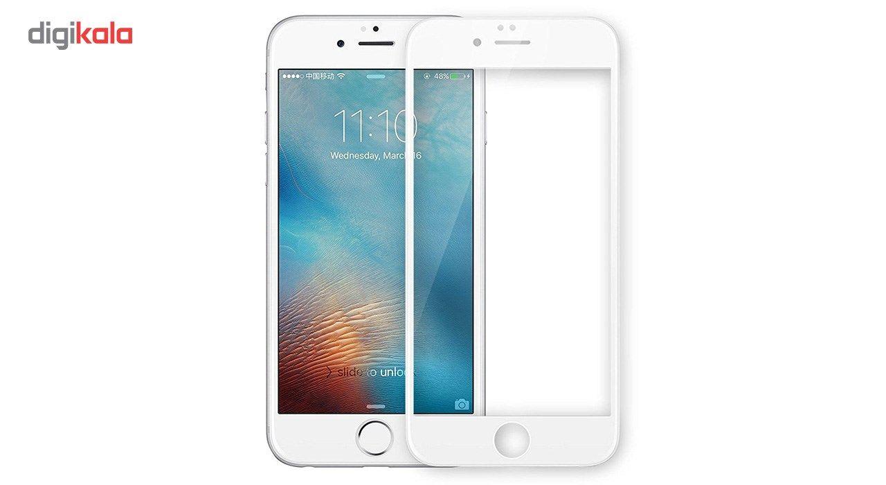 محافظ صفحه نمایش شیشه ای Full Cover و پشت شیشه ای Tempered کوالا مناسب برای گوشی موبایل اپل آیفون 6/6S main 1 3
