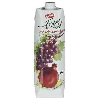 آب انار و انگور قرمز شادلی حجم 1 لیتر