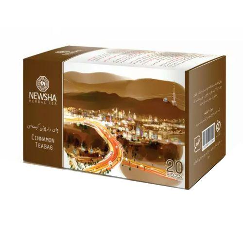 چای کیسه ای دارچین نیوشا مدل Cinammon بسته 20 عدد