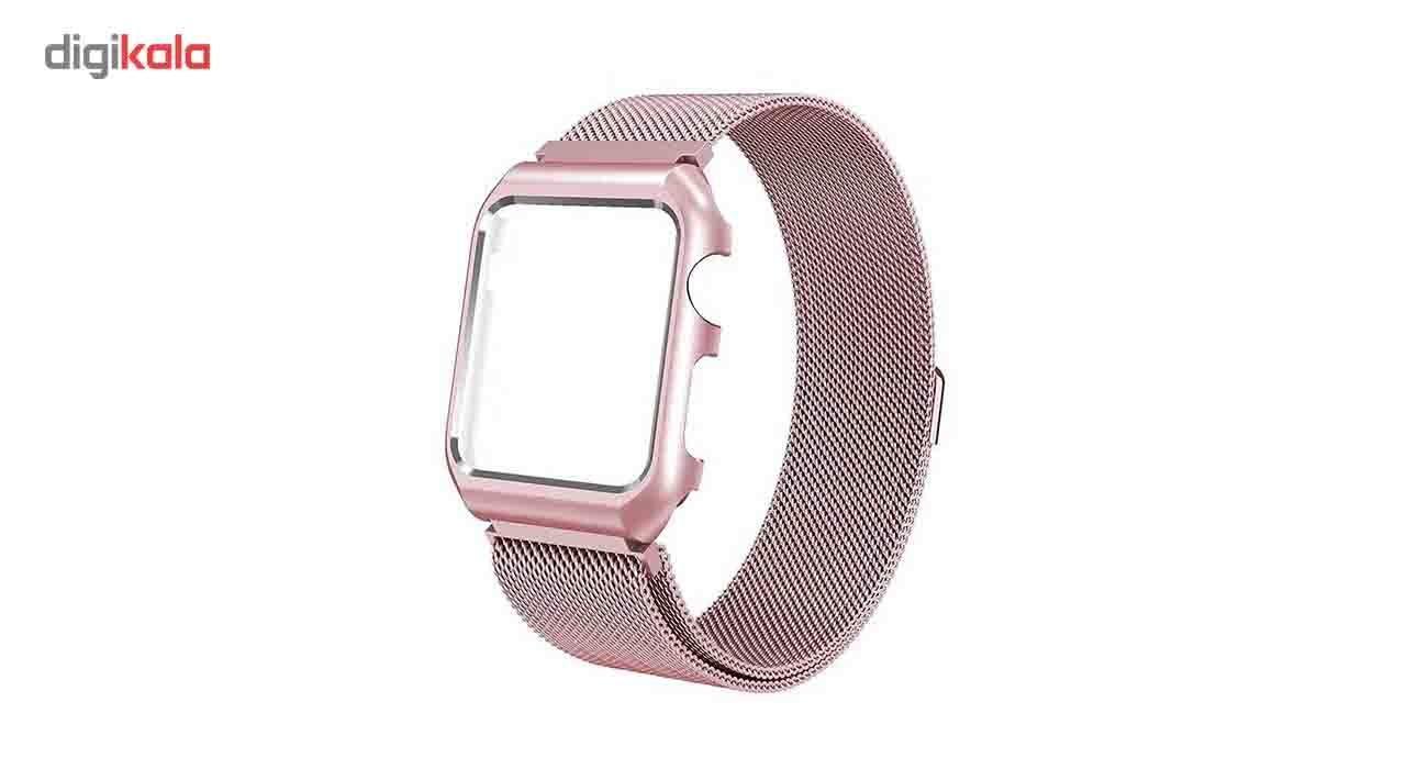 بند فلزی  سومگ  مدل Fashion مناسب برای اپل واچ 42 میلی متری main 1 4