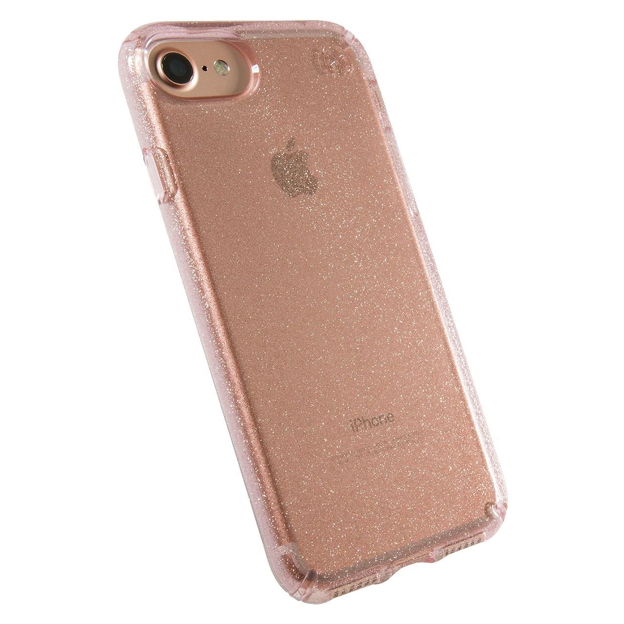 کاور اسپک مدل Presidio Clear Glitter مناسب برای گوشی موبایل آیفون مدل7 و 8