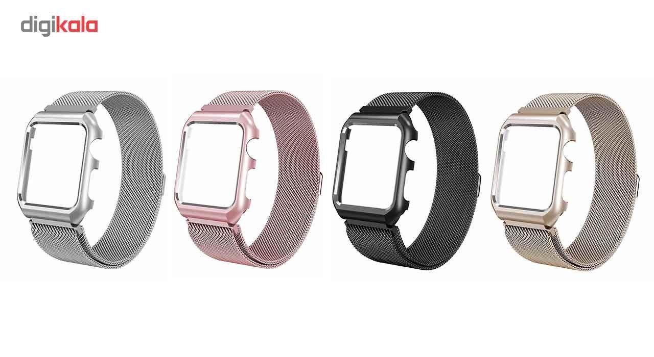 بند فلزی  سومگ  مدل Fashion مناسب برای اپل واچ 42 میلی متری main 1 6