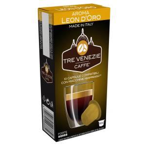 کپسول قهوه تِرِونیز مدل Leon Doro بسته 10 عددی