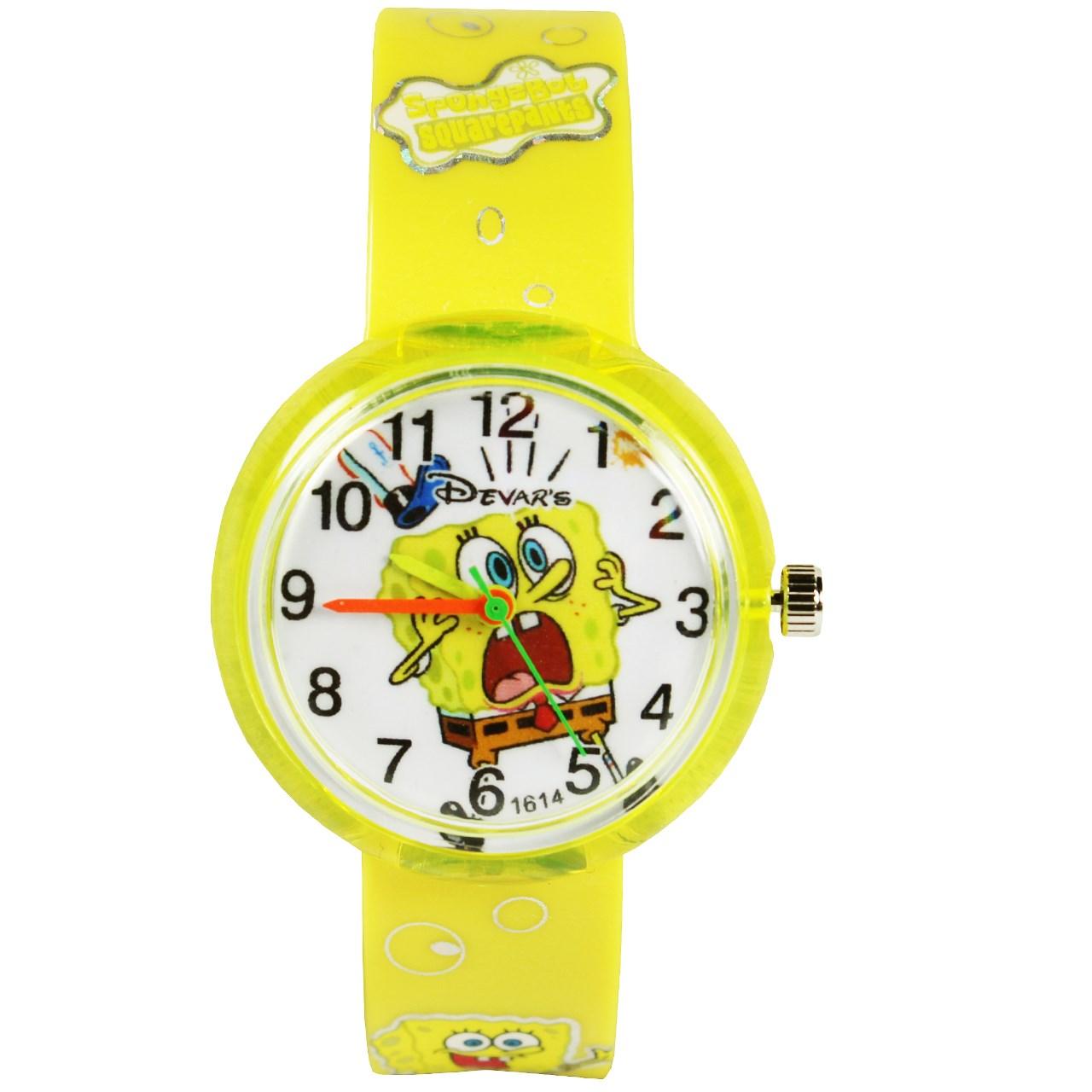 ساعت مچی عقربه ای بچگانه مدل K-05 پسرانه 49