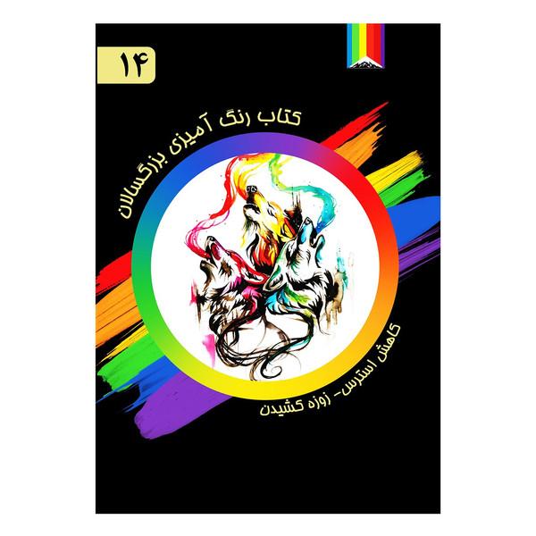 کتاب رنگ آمیزی بزرگسالان اثر کتی لیپسکومب شماره 14