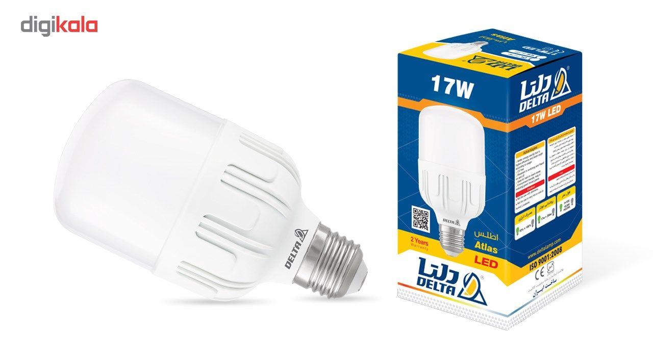 لامپ ال ای دی 17 وات دلتا مدل اطلس پایه E27 بسته 2 عددی main 1 1