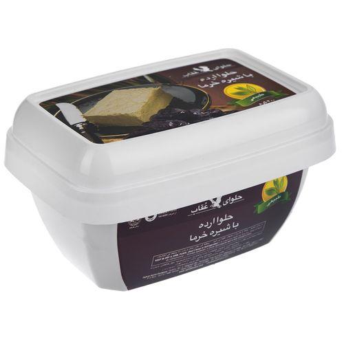 حلوا با شیره خرما عقاب مقدار 400 گرم