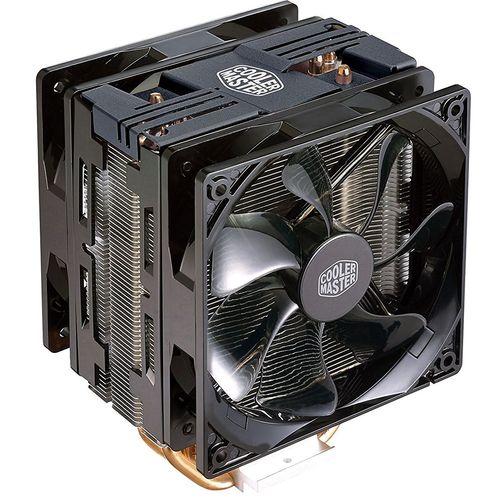 خنک کننده پردازنده کولر مستر مدل Hyper 212 LED Turbo Black Edition