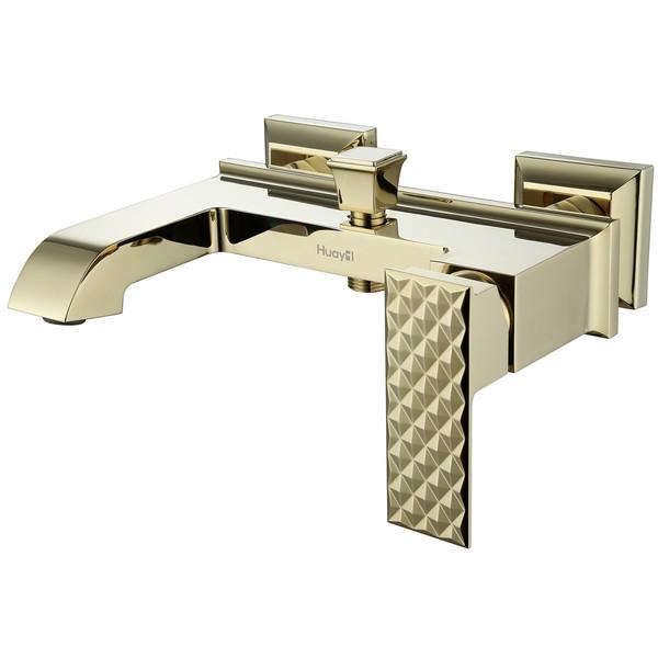 شیر حمام هوآیی مدل پاردنون طلایی