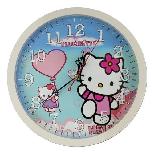 ساعت دیواری طرح Hello Kitty کد 10010101