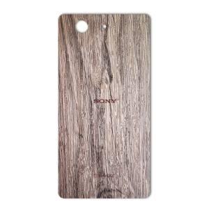 برچسب پوششی ماهوت مدل Walnut Texture مناسب برای گوشی  Sony Xperia Z3 Compact