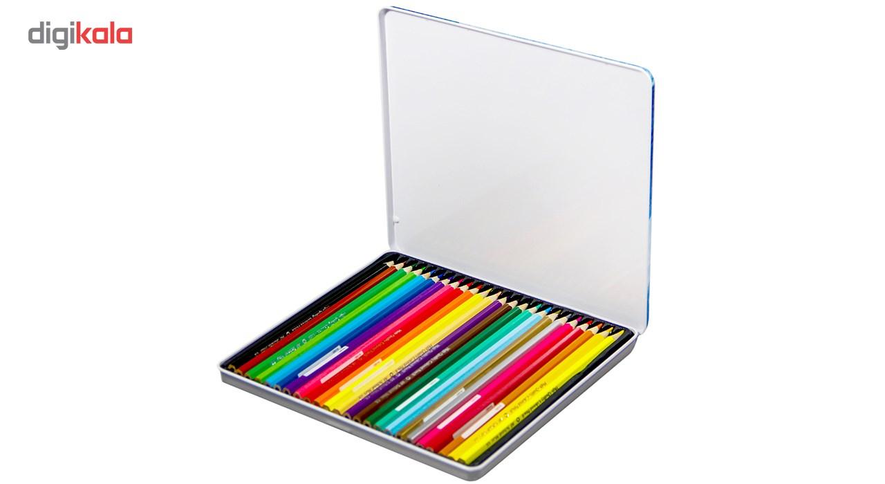 مداد رنگی 24 رنگ ای اف اسکول مکس طرح بالون main 1 4