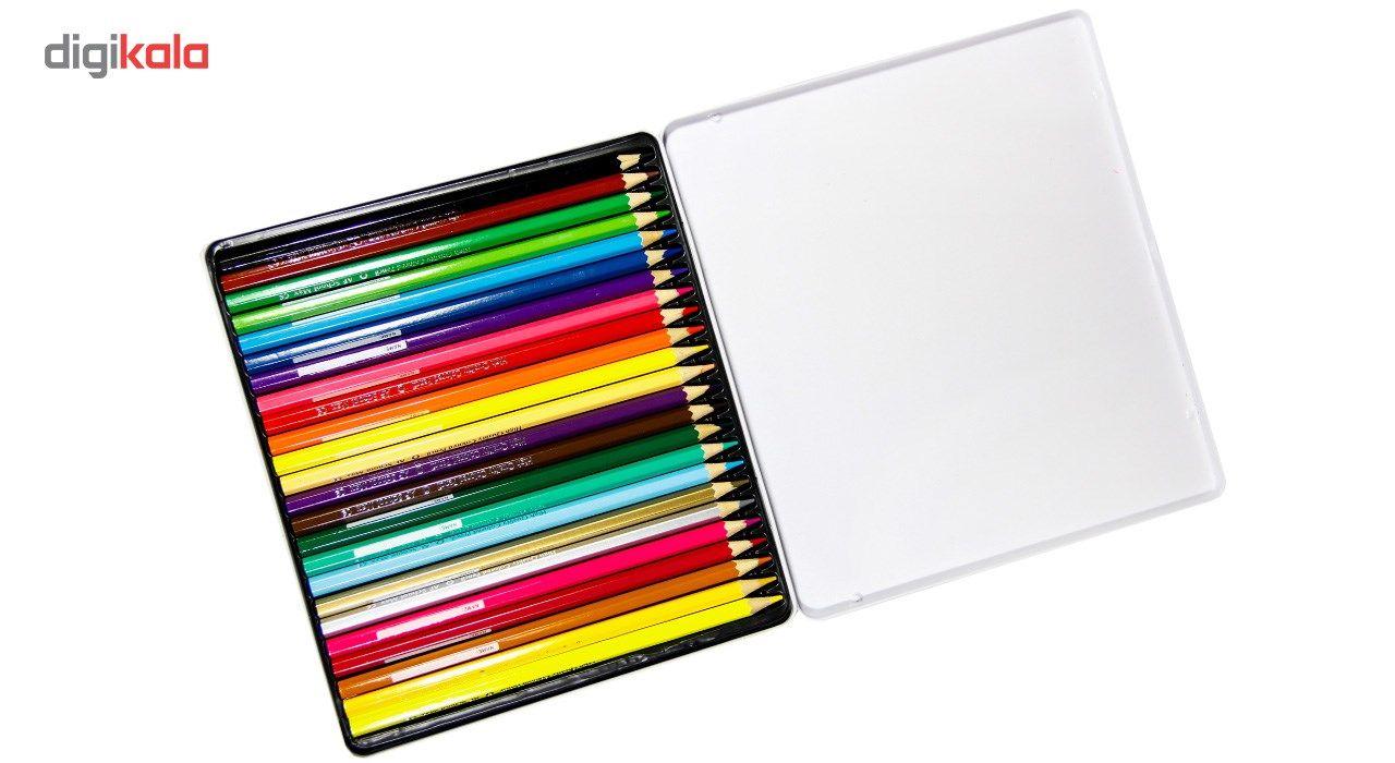 مداد رنگی 24 رنگ ای اف اسکول مکس طرح بالون main 1 5