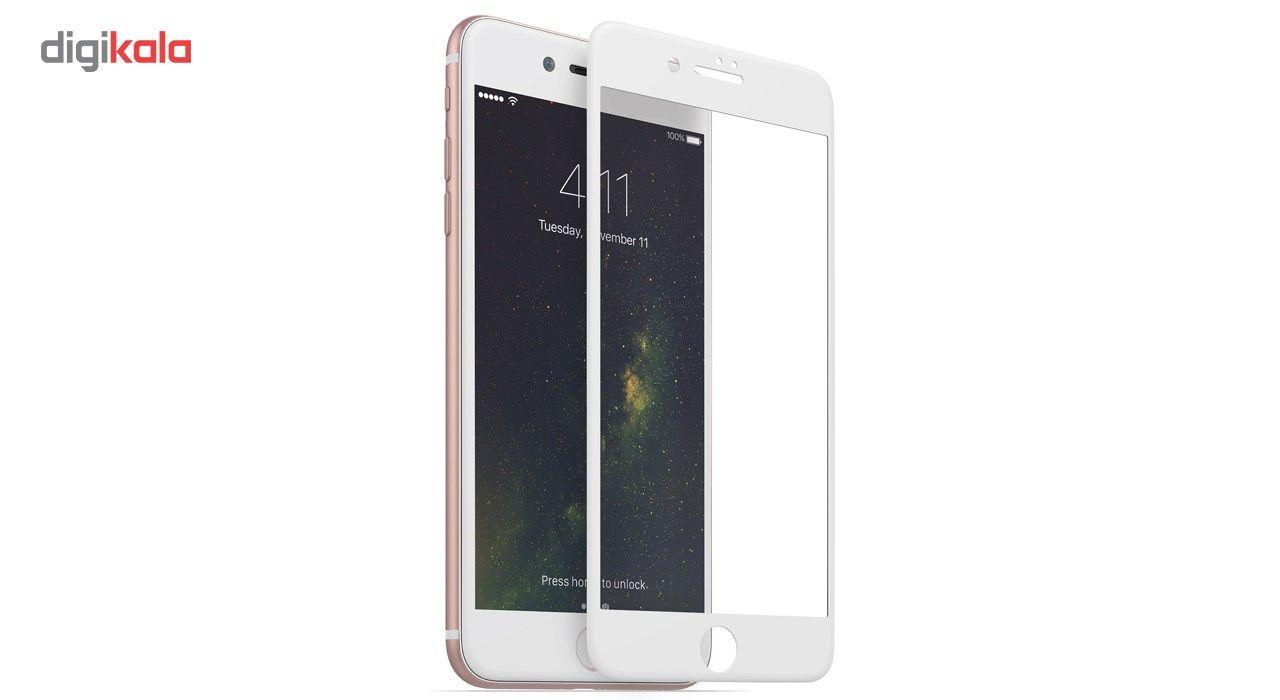محافظ صفحه نمایش  تمام چسب شیشه ای پیکسی مدل 5D  مناسب برای گوشی اپل آیفون 8 پلاس main 1 2