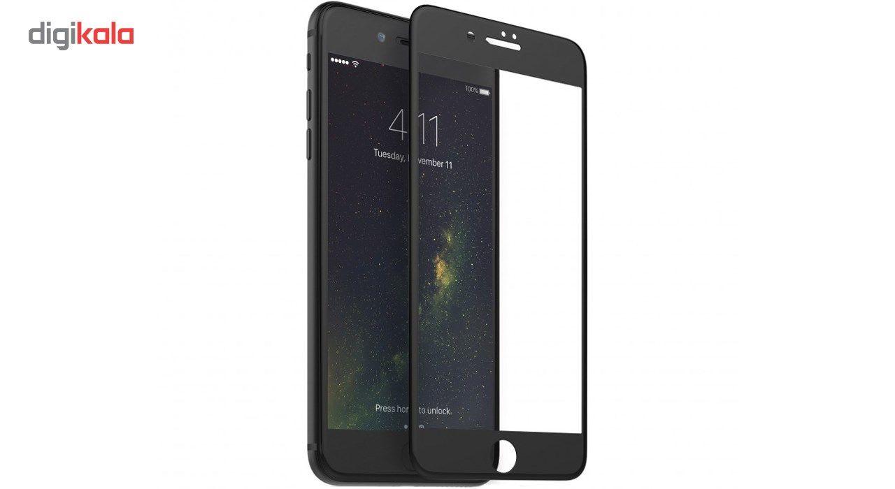 محافظ صفحه نمایش  تمام چسب شیشه ای پیکسی مدل 5D  مناسب برای گوشی اپل آیفون 8 پلاس main 1 3