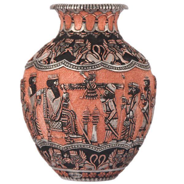 گلدان قلمزنی گالری مثالین طرح هخامنش کد 149025