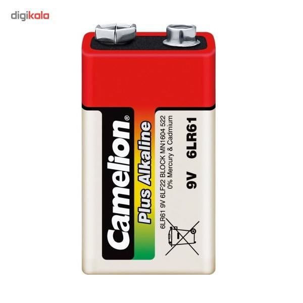 باتری کتابی کملیون مدل Plus Alkaline 6LR61 main 1 1