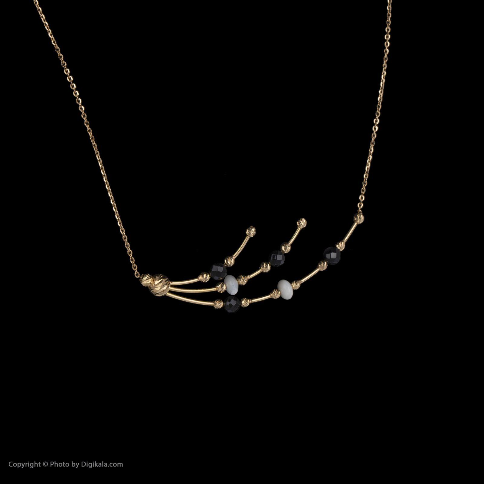 گردنبند طلا 18 عیار زنانه سیودو مدل 146427 -  - 4