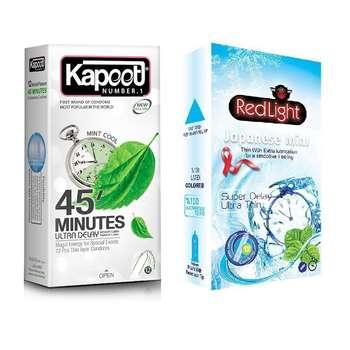 پک کاندوم مدل Japanese 45 Minutes مجموعه دو عددی