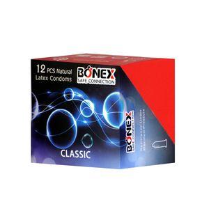 کاندوم بونکس مدل Classic  بسته 12 عددی