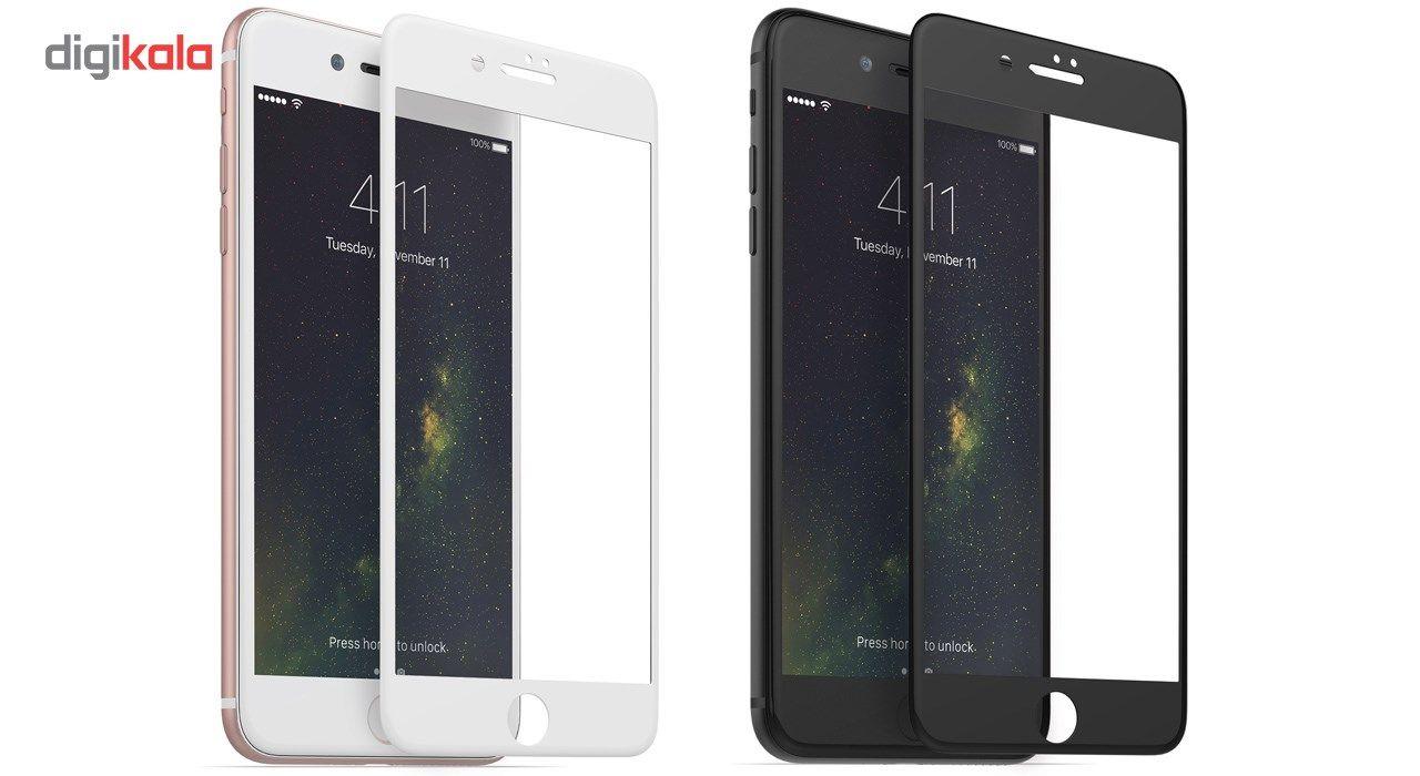 محافظ صفحه نمایش  تمام چسب شیشه ای پیکسی مدل 5D  مناسب برای گوشی اپل آیفون 8 پلاس main 1 13