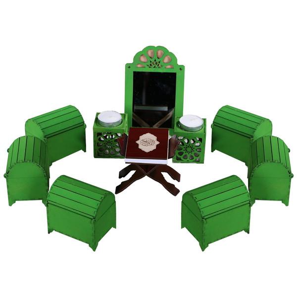 مجموعه هفت فامسین مدل صندوقچه ای کوچک
