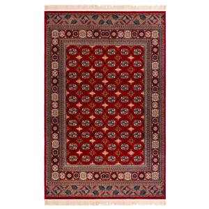 فرش ماشینی دنیای فرش طرح عشایری کد 1014
