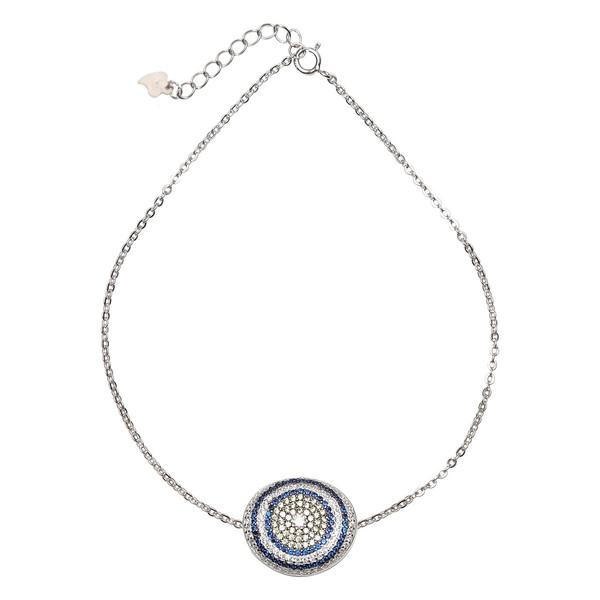 دستبند نقره شهر جواهر مدل SJ-SBC012