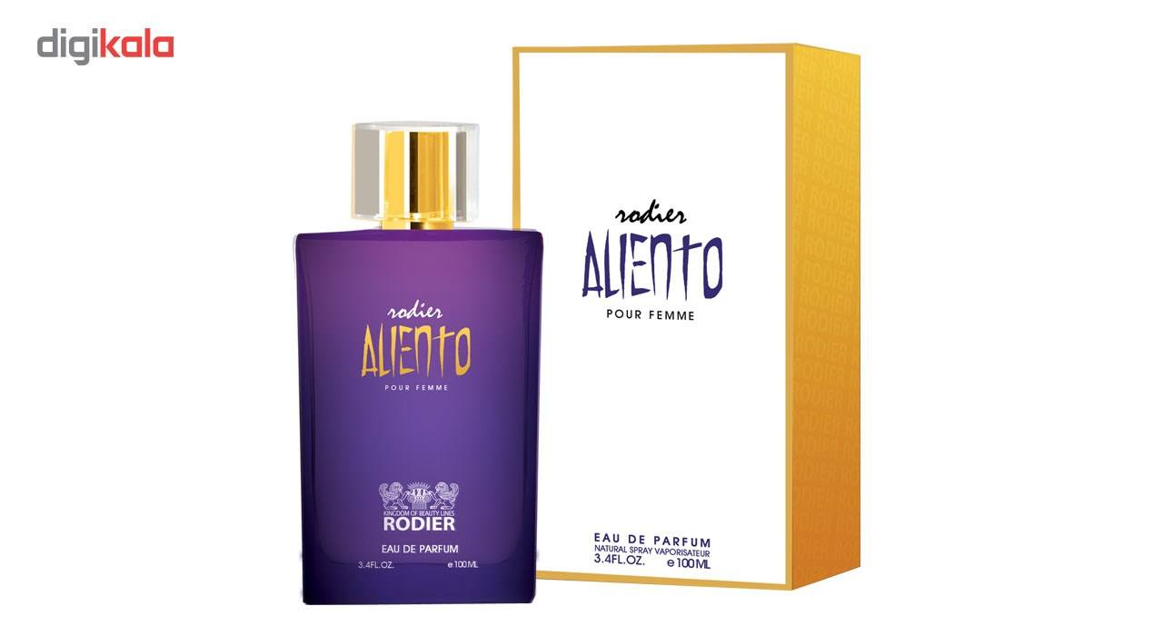 ادو پرفیوم زنانه رودیر مدل Aliento حجم 100 میلی لیتر main 1 1