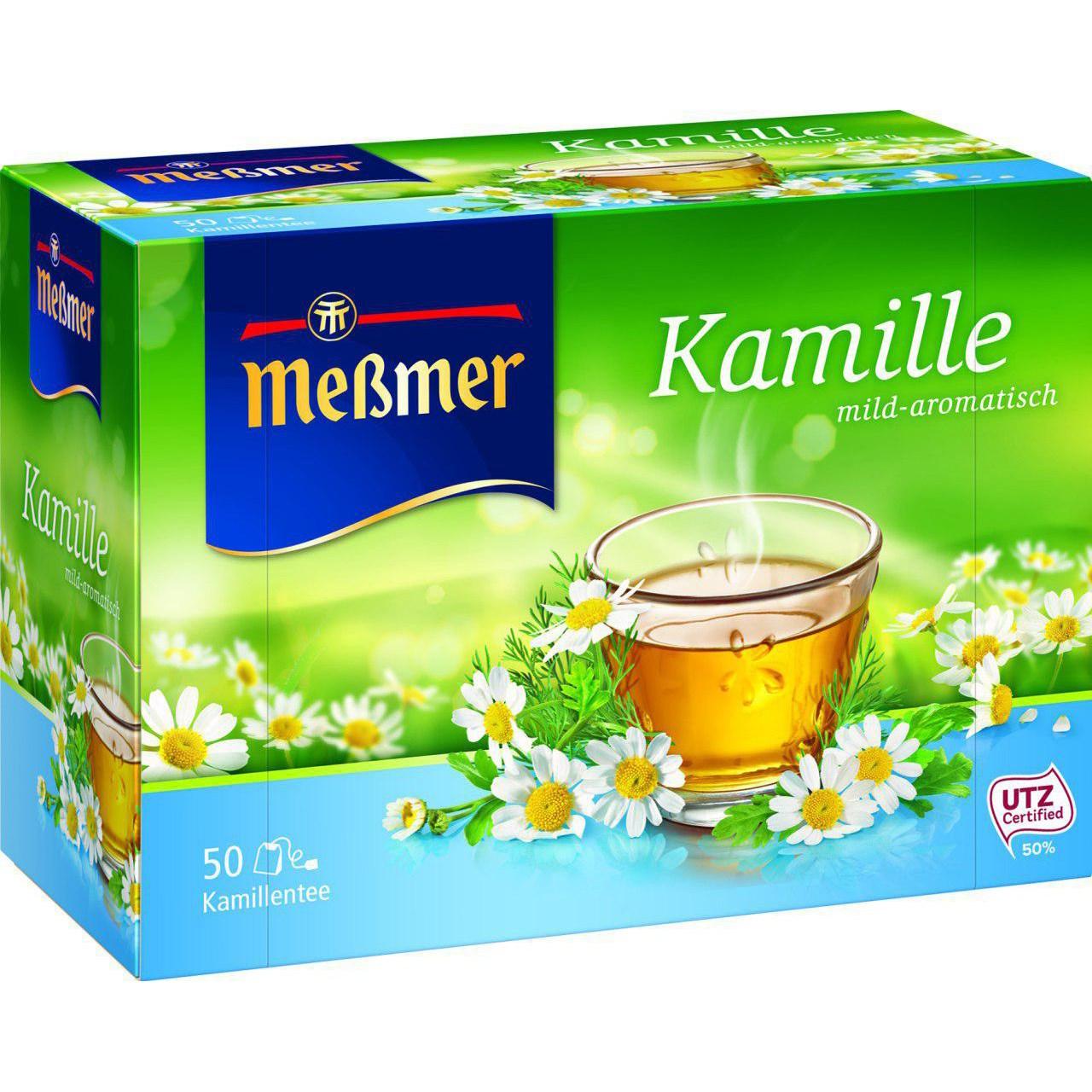 بسته دمنوش گیاهی بابونه مسمر مدل Kamille