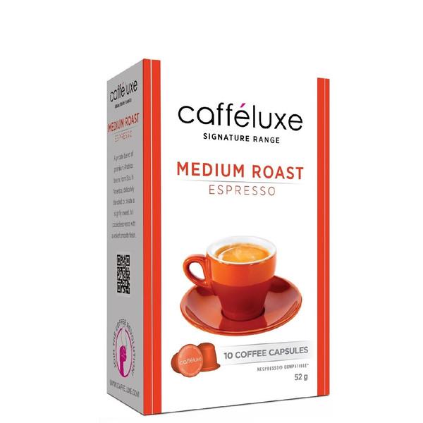 کپسول قهوه نسپرسو کافه لوکس مدل Espresso Medium Roast