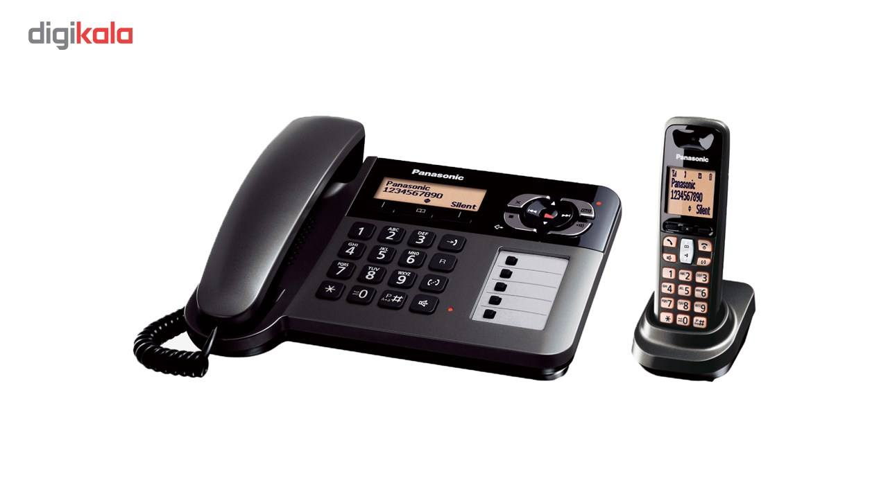 تلفن بی سیم پاناسونیک مدل KX-TGF120 main 1 1