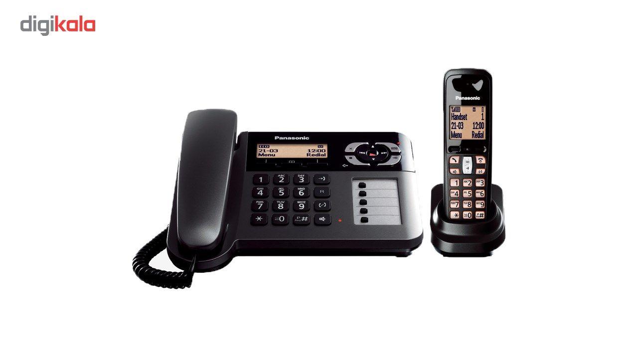 تلفن بی سیم پاناسونیک مدل KX-TGF120 main 1 2