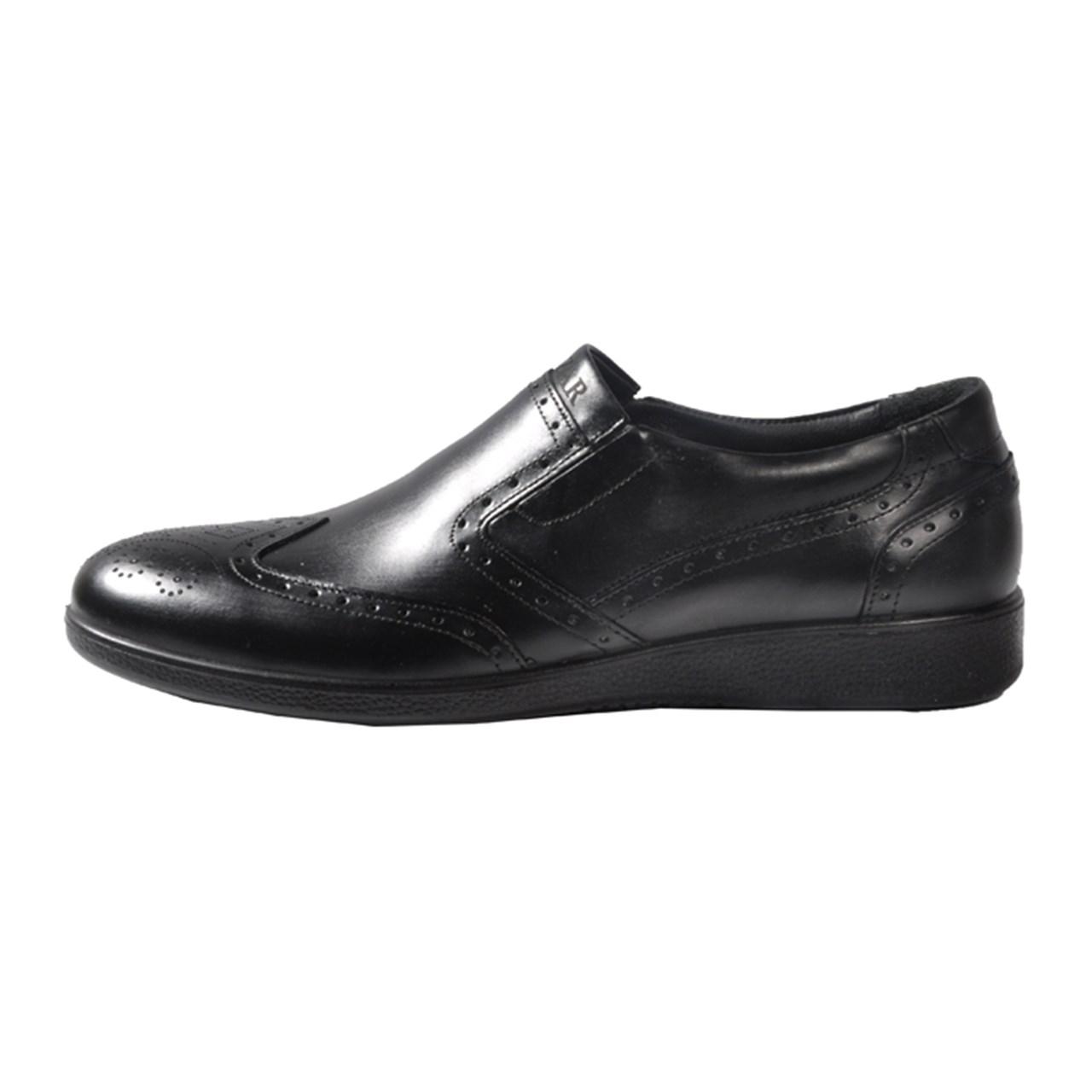 کفش چرم مردانه مهاجر مدل M38m