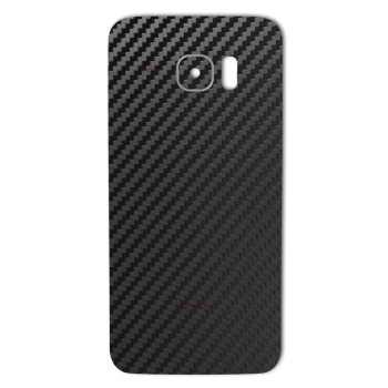 برچسب پوششی ماهوت مدل Carbon-fiber Texture مناسب برای گوشی  Samsung S7 Edge
