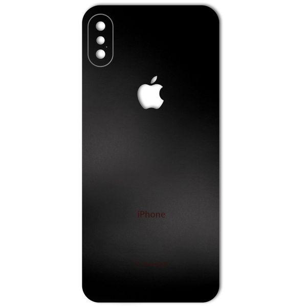 برچسب پوششی ماهوت مدل Black-color-shades Special مناسب برای گوشی  iPhone X