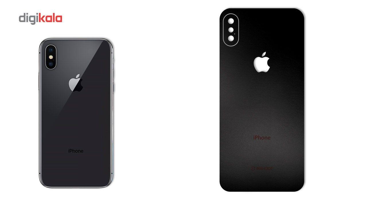 برچسب پوششی ماهوت مدل Black-color-shades Special مناسب برای گوشی  iPhone X main 1 1