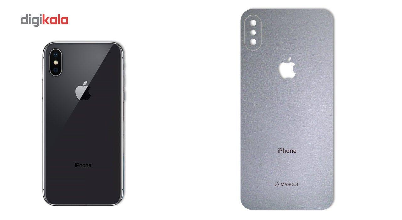 برچسب پوششی ماهوت مدل Black-color-shades Special مناسب برای گوشی  iPhone X main 1 3