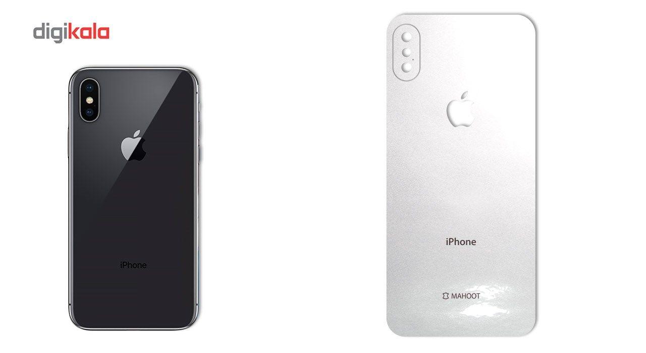 برچسب پوششی ماهوت مدل Black-color-shades Special مناسب برای گوشی  iPhone X main 1 5