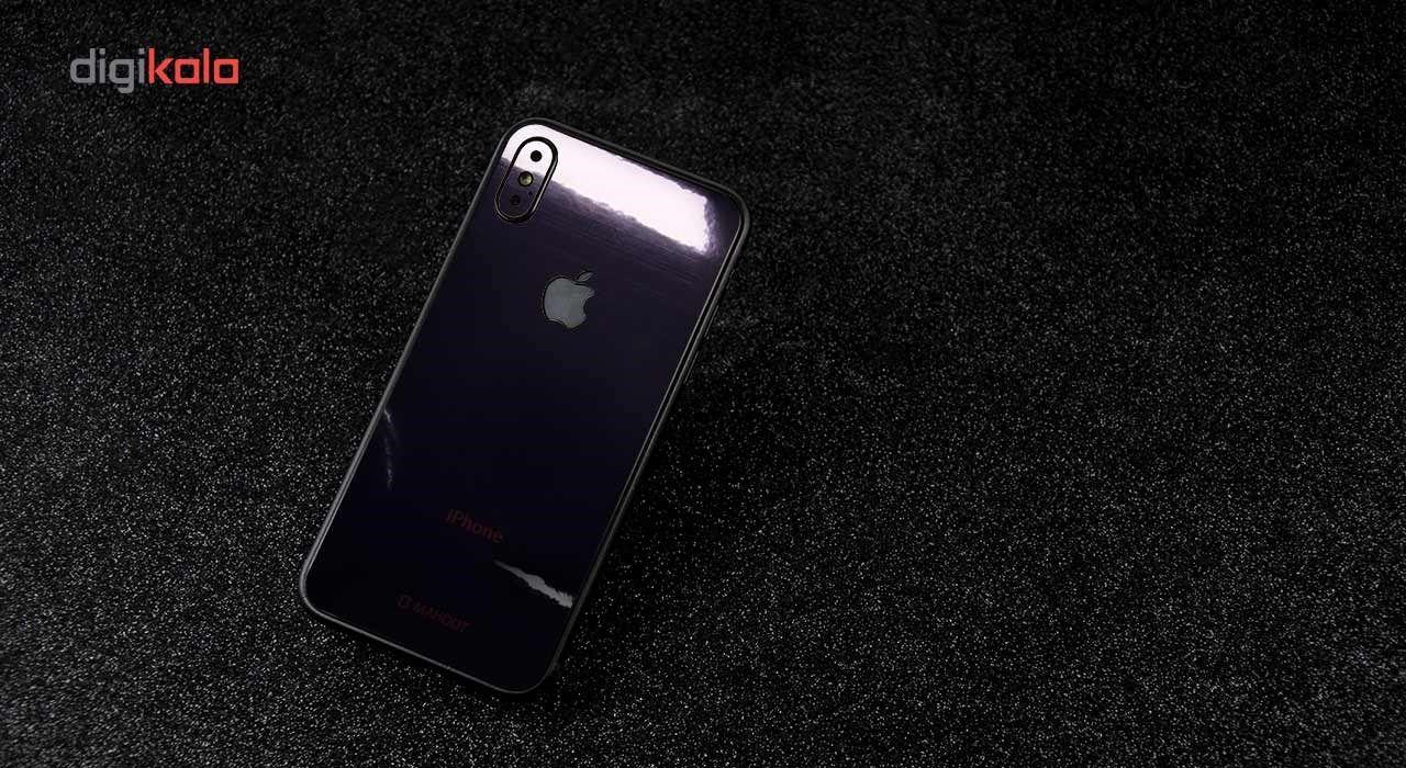 برچسب پوششی ماهوت مدل Black-color-shades Special مناسب برای گوشی  iPhone X main 1 6
