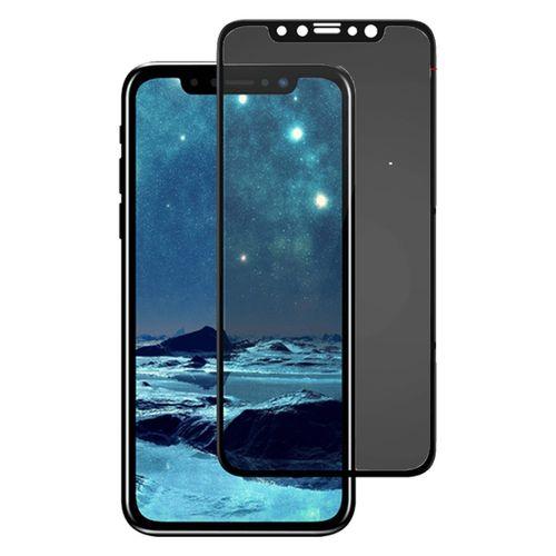 محافظ صفحه نمایش و پشت و لنز تمام چسب شیشه ای Cactus مدل privacy مناسب برای گوشی iphone X