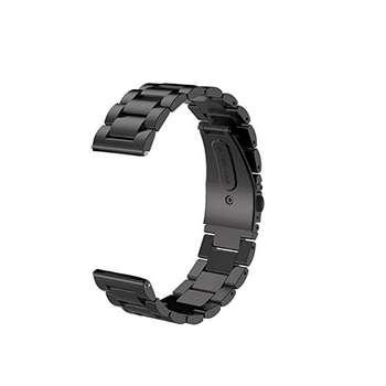 بند فلزی مدل Three Bead مناسب برای ساعت هوشمند Gear Sport و Gear S2 Classic