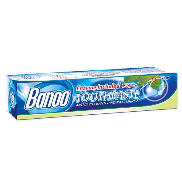 خمیر دندان بانو مدل Enzyme Included مقدار 72 گرم